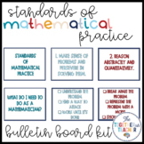 Standards of Mathematical Practice Bulletin Board Kit - Kid-Friendly!