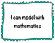 Standards of Mathematical Practices Posters