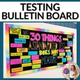 Standardized Testing Bulletin Board Kit