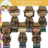 Standing Detective Clip Art
