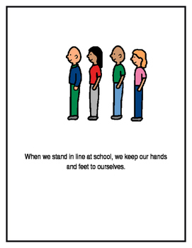 Standing In Line, A Social Story