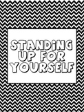 Standing Up For Yourself Counseling Lesson Plan