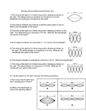 Standing Waves Mathematical Problem Set