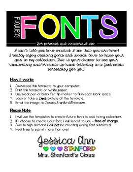 Stanford Fonts Submission Form