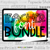 Stanford Fonts Ultimate TEACHER Bundle {personal and commercial use}