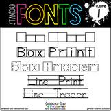 Stanford Fonts • Font Volume 1