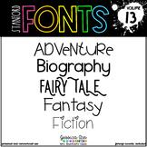 Stanford Fonts • Font Volume 13