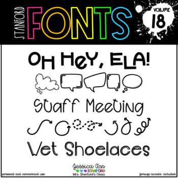 Stanford Fonts - Vol. 18
