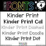 Stanford Fonts • Font Volume 4