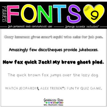 Stanford Fonts - Vol. 9