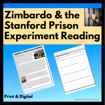 Stanford Prison Experiment & Abu Ghraib Quick Read: 1 Page Reading w/ Questions