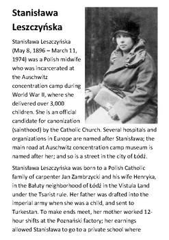 Stanisława Leszczyńska Handout
