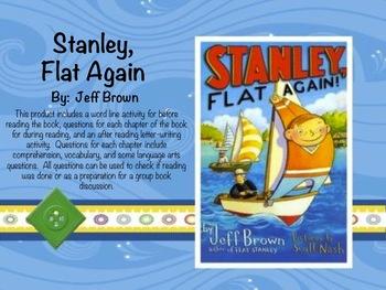 Stanley, Flat Again Book Unit