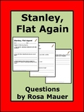 Stanley Flat Again Book Study Activities