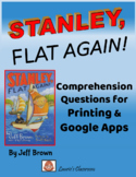 Stanley, Flat Again, comprehension questions, vocabulary and answers