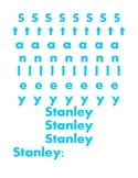 Stanley Name Learning
