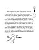 LL Stanley Yelnats: Camp Letter Home - Unit 1 Lesson 5
