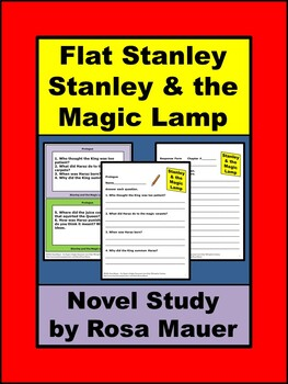 Stanley and the Magic Lamp (Flat Stanley #2) by Jeff Brown