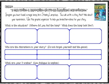 Story Writing Graphic Organizer