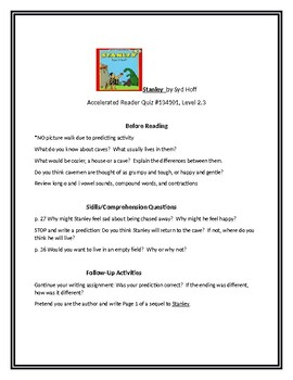 Stanley for Guided Reading