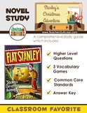 Stanley's Christmas Adventure {Novel Study, Vocabulary Games and Common Core}