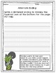 Reading Comprehension Packet - Stanley the Squirrel