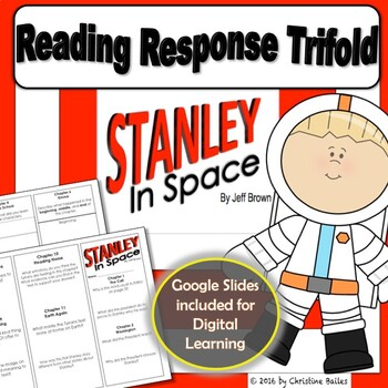 Stanley In Space Reading Response Trifold