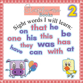 Staple-me Books: Kindergarten Sight Word Stories and activ