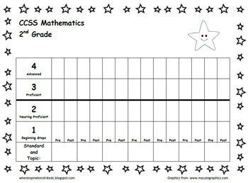 Star AND Space Student Data BUNDLE for every student's Personal Best!