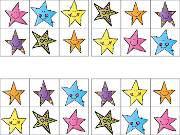 Star Activities for 2's and 3's