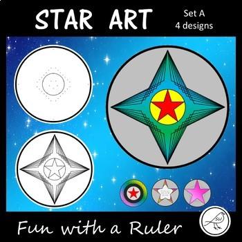 Star Art – Templates – Set A