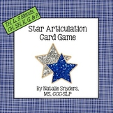 Star Articulation Card Game (TH, L, S Blends, CH, SH, K, G, R) Speech Therapy
