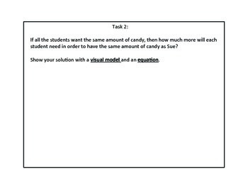 Star Bar Fraction Task