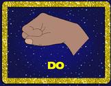 Star Battle Hand Signs Freebie