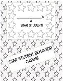 Star Behavior Cards