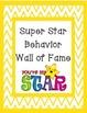 Clip Chart Behavior Plan Pack- Star Theme