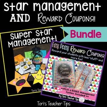 Star Behavior Management AND Reward Coupons {Bundle}