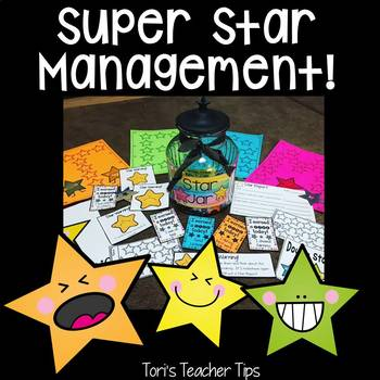 Star Behavior Management System {Whole Class and Individual}