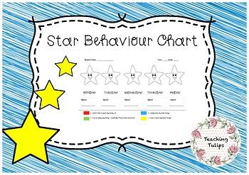 Star Behaviour Chart