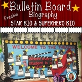 Movie Theater Biography | Superhero Biography for Bulletin Boards