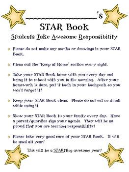 Star Book Binder (Hollywood Theme)