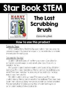 Star Book STEM Challenge #1 - Harry the Dirty Dog