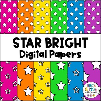 Star Bright Digital Papers
