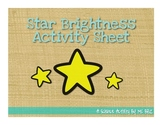 Star Brightness {Graphic Organizer}