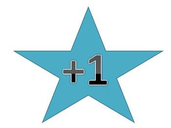Star Buck Behavior Management System- Clip Chart Compliment