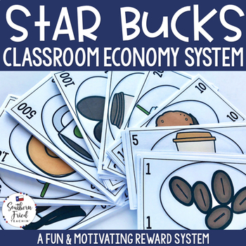 Star Bucks - Classroom Economy Reward System (Coffee Shop Theme)