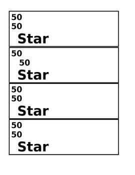 Star Bucks Money $50