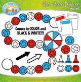 Star Build A Board Game Clipart {Zip-A-Dee-Doo-Dah Designs}