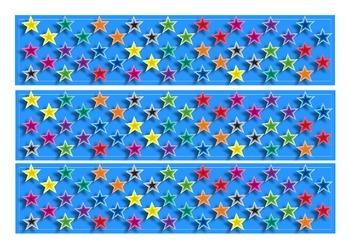 Star Bulletin Board Display Border