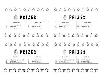 Star Cards - Positive Behavioral Incentive